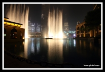 Light Fountain @ Burj Khalifa