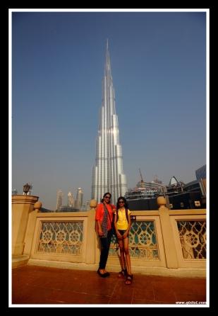 Trupti & Reva @ Burj Khalifa