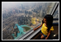 Dubai View At The Top @ Burj Khalifa